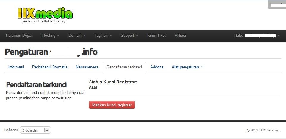 kunci domain